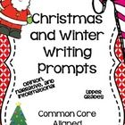 Need Christmas/Winter Prompts aligned to Common Core?  This 28 page pdf contains 35 writing prompts to use during the month of December. The best p...