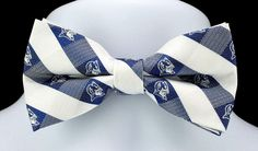 New Duke University Blue Devils Plaid Mens Bow Tie Adjustable College Bowtie #EaglesWings #BowTie