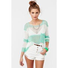 Shoreline Knit ($15) ❤ liked on Polyvore
