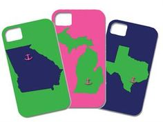 Preppy Princess|Home State iPhone Cases
