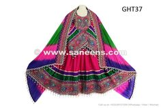 Buy New Design Afghani Dress Kuchi Brides Fashionable Costume - Saneens Online Store