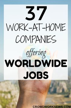 37 Real Companies Offering Online Jobs Worldwide Work From Home