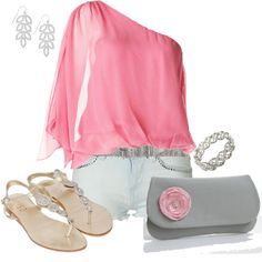 summer, created by johnna-cameron on Polyvore