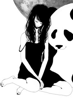 sometimes sad me wants to cuddle up with sad panda.