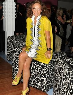 """I design for the woman who loves being a woman"" ~ Diane von Furstenburg"