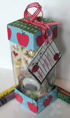 TLC182 Teacher Survival Kit by bambi64 - Cards and Paper Crafts at Splitcoaststampers