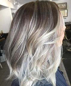 1000 ideas about gray hair transition on pinterest going gray 40 shades of grey silver and white highlights for eternal youth brown layered hair pmusecretfo Choice Image