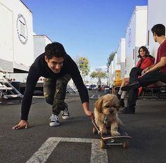 On Set of Teen Wolf season 5b