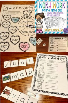 Looking for NO PREP word work activities? This first word work vowel pack focuses on short a and long a_e! Fourteen word work activities are included in this pack!   This is the first set of a larger Vowel Word Work bundle! This set will have your students confident with short a and long a_e!