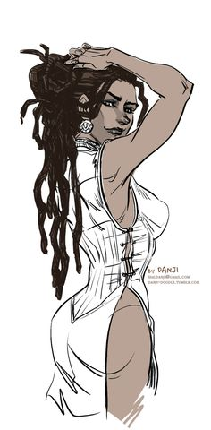 Isabela-dreads by DanjiDoodle