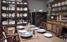 Robert Kime's Bloomsbury kitchen