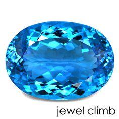 スーパーブルートパーズ(Blue Topaz)42.85CT