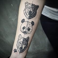 1, 2 or 3? They are all amazing I can't choose. #inkspiretattoos ❤️ Artist: Unknown - tag them below if you know them