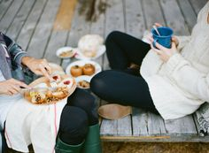 Catching Up Over Coffee Cosy In Knitwear - This Is My Dream BFF Scenario!