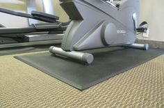"3/8"" Equipment Mats - Low Cost Free Shipping Gym Treadmill Mats"