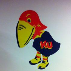 1923 Jayhawk Go Ku, U Rock, State Of Kansas, Kansas Jayhawks, Heart Art, Funny Cartoons, Projects To Try, Free State