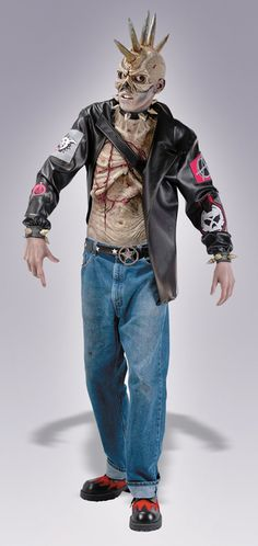 Nice Costumes Punk Zombie Costume just added...