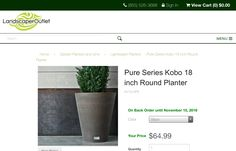 http://www.landscaperoutlet.com/Kobo-18-inch-Round-Planter
