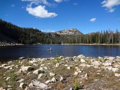 Backpacking to Duck Lake in the Uinta Mountains
