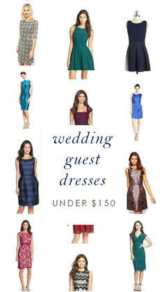 Dress for Early Spring Wedding Guests Wedding guest attire