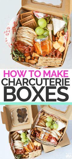 Charcuterie Lunch, Charcuterie Plate, Charcuterie Recipes, Charcuterie And Cheese Board, Cheese Boards, Party Food Platters, Cheese Platters, Party Food Boxes, Tapas