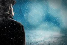Free Image on Pixabay - Man, Rain, Snow Rain, Alone Nikon D5100, Free Pictures, Free Images, Hd Images, Funny Pictures, Ancient City, Thought Experiment, Snow Rain, Guard Your Heart