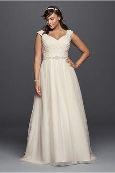 Davids bridal. Wedding dress.9WG3787