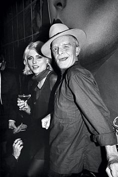 studio 54 | Tumblr > Truman Capote & Debbie Harry