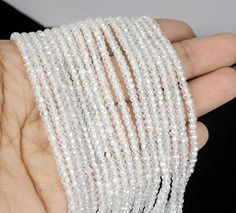 2 Strands White Cubic Zirconia 3mm Rondelle Faceted Cryst... http://www.amazon.com/dp/B01E14YKDI/ref=cm_sw_r_pi_dp_RYfixb1X1ZBMD