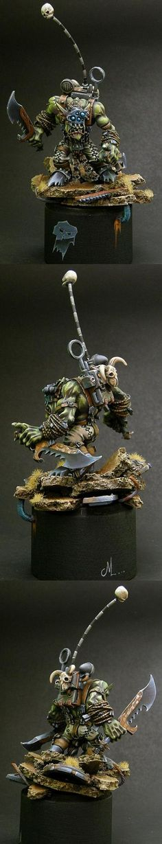 Ork Boss, Snikrot, Painted by Camelson