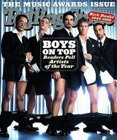 Backstreet Boys Rolling Stone Cover *90's*