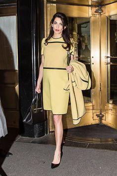 Amal Clooney en Nueva York