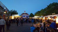 Strassenfest Sindelfingen Marktplatz Abends