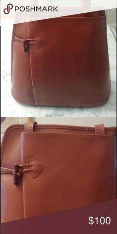 Long Champ handbag Long Champ Handbag with button detail Gently worn, in impeccable condition. Longchamp Bags