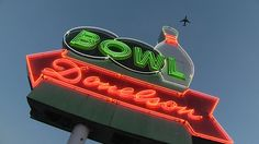Donelson Bowl Signage, Neon Signs, Billboard, Signs