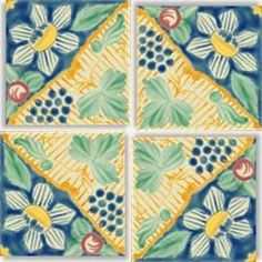 lots of beautiful colored tiles on this site Beltile.com