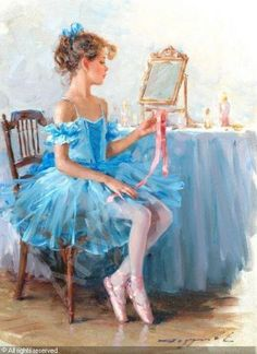 """""""Young Ballerina"""" sold by John Nicholson, Haslemere (Surrey), on Wednesday, March 28, 2007"""