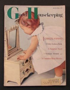 found a doll dresser like this one in our house when we moved in - History Old Magazines, Vintage Magazines, Vintage Books, Vintage Cards, Vintage Images, Good Housekeeping, My Childhood Memories, Vintage Children, Vintage Prints