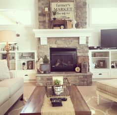 Fireplace for addition