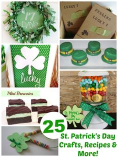 25 St. Patricks Day Treats, Crafts & More - Events To Celebrate