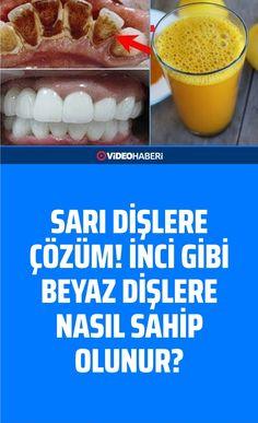 Sarı Dişlere Çözüm! İnci Gibi Beyaz Dişlere Nasıl Sahip Olunur? Food And Drink, Breakfast, Health, Stockings, Morning Coffee, Health Care, Salud