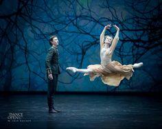 Sarah Lamb and Vadim Muntagirov in Winter Dreams duet, Dance Open 2015. Jack Devant
