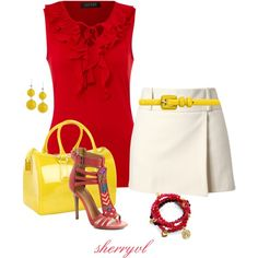 Beaded Shoes And Jewelry, created by sherryvl on Polyvore