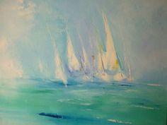 voiliers - Peinture - Piel-Colombo