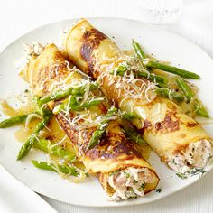 Chicken and Asparagus Crepes                                                                                                                                                                                 More