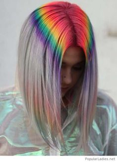 Rainbow in my hair