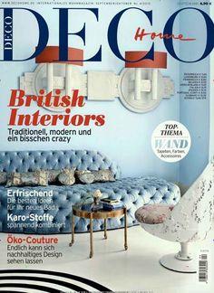 British Interiors - Traditionell, modern und ein bisschen crazy. Gefunden in: DECO Home, Nr. 4/2015