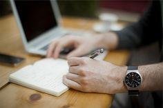 Hombre, Negocios, Tecnologia, escribiendo