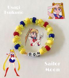 Diy Kandi Bracelets, Rave Bracelets, Pony Bead Bracelets, Diy Friendship Bracelets Patterns, Bracelet Crafts, Pony Beads, Sailor Moon Crafts, Pulseras Kandi, Kandi Patterns