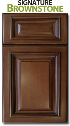 Signature Brownstone Forevermark - For master bathroom vanity and linen tower